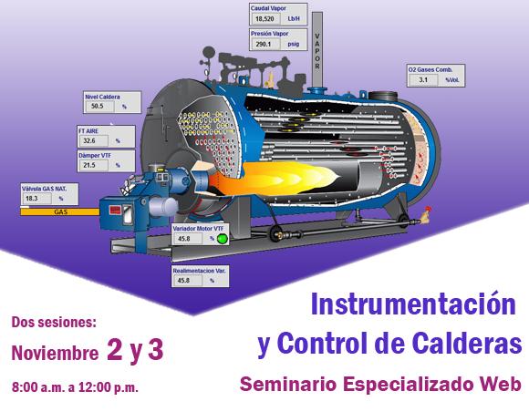 Seminario Web en Instrumentación y Control de Calderas